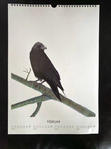 Jahreskalender 2021 mit Kugelschreiberkunst 4